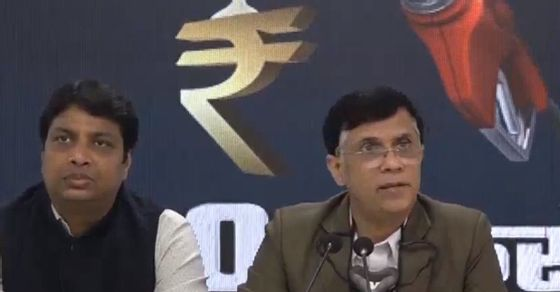 """Nation Paying """"Modi Tax"""" looted government Rs 20 lakh crore: Congress over soaring gasoline and diesel prices"""