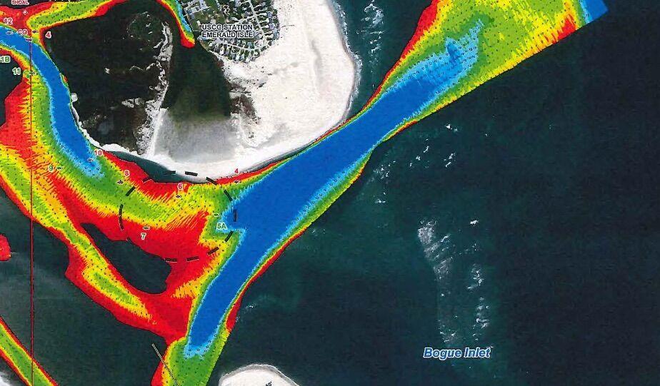 Bogue Inlet dredging set for spring; Cape Carteret pitches in money | News