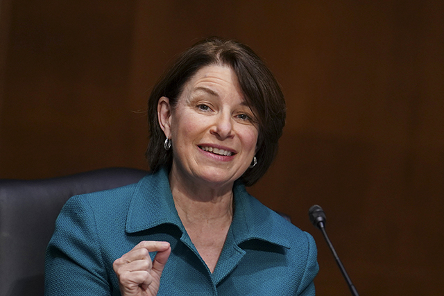 "Why Senator Klobuchar is promoting a ""Marshall Plan for Mothers"""