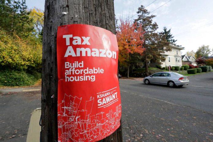 Richter upholds Seattle's Amazon tax on large companies | Washington